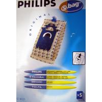 Vacuum Cleaner Bags Philips Electrolux, Tornado, Volta 5PC