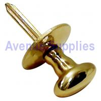 Door Security Rack Bolt Thumbturn / Key Brass 34mm