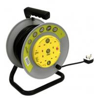 Extension Reel 4 Way 25m