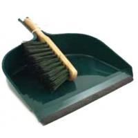 Dustpan And Brush Extra Large Green