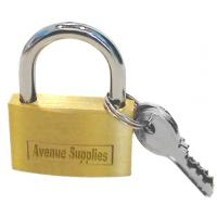 Open Shackle Padlock Brass 25mm
